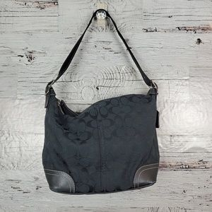 Coach Bags - Authentic Coach Soho Signature Hobo Bag Black